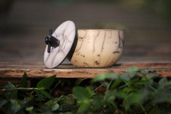 Boite modèle bambou en raku nu