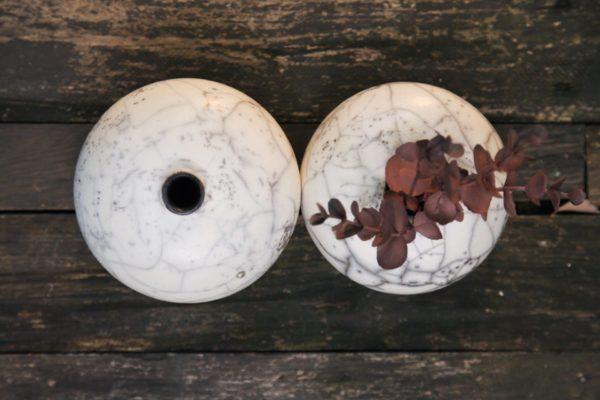 Soliflores petit modèle en raku nu
